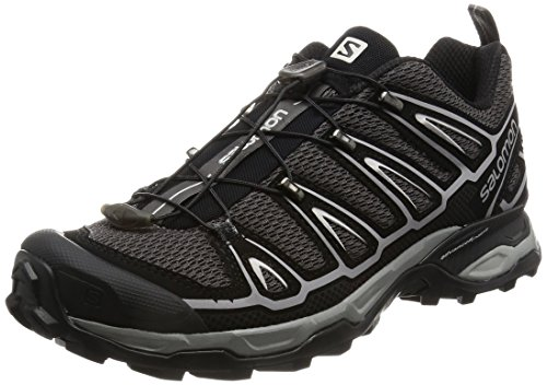 Salomon X Ultra 2 - - para hombre, Autobahn/Black/Steel Grey, 42