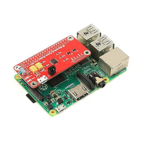 GeeekPi IR Remote Control Switch Module Power Button Module for Raspberry Pi 3/2 Model B