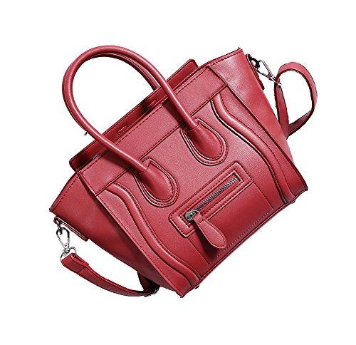 A&N ,  Damen handtaschen Rot