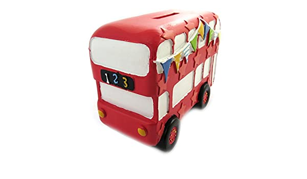Les Trésors De Lily M7749 Tirelire Créateur Bus Anglais