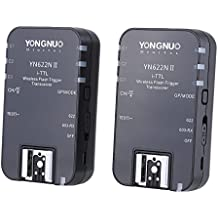 YONGNUO YN622N II 2.4G Wireless i-TTL Flash Trigger Receiver Transmitter Transceiver for Nikon D70 D80 D90 D200 D300 D600 D700 D800 D3000 D5000 D7000 Series