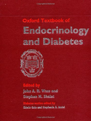 Oxford Textbook of Endocrinology and Diabetes (OXFORD TEXTBOOK SERIES) by John A. H. Wass (Editor), Stephen M. Shalet (Editor) (15-Aug-2002) Hardcover