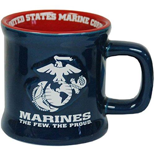 Jenkins Unternehmen United States Marines Keramik Relief Becher