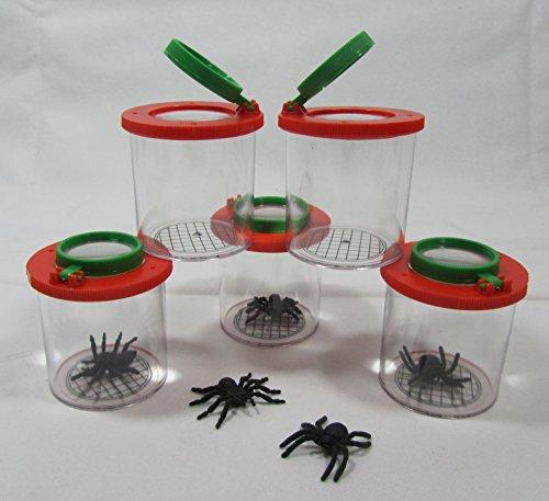 Becher Lupe Becherlupe Lupenbecher Lupendose Maxi 20 Stück 'Top Qualität'