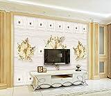 Fototapete 3D Tapete Vlies Wanddeko Schwarz - Weiß - Architektur Städtischen Landschaftlichen Hintergrund Mauer