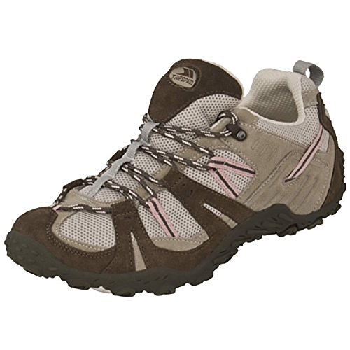 Trespass, Scarpe da escursionismo donna Marrone marrone Marrone (Brown Pink)