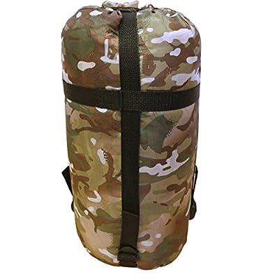 Kombat UK Unisex Outdoor Military Sleeping Bag available in Btp (British Terrain Pattern) - One Size from Kombat UK