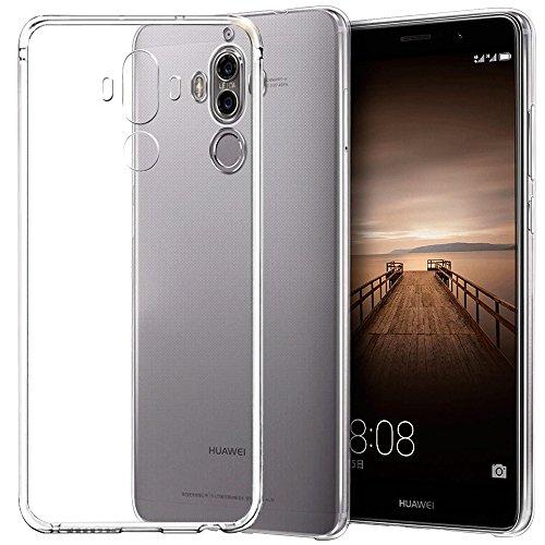 Huawei Mate 9 Funda, Yica Ultra Transparente Claro Caso Suave gel TPU silicona Funda Cubierta para Huawei Mate 9 Caso de Parachoques