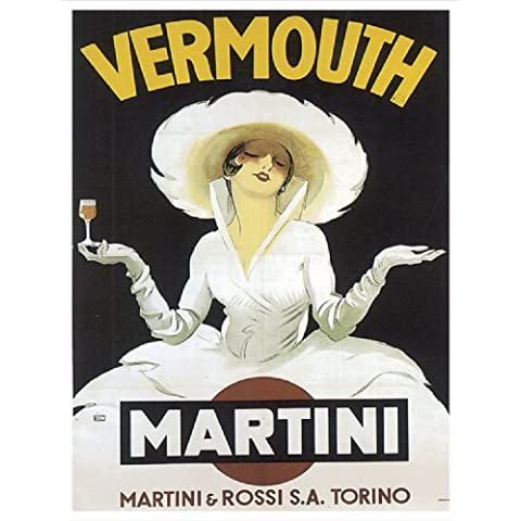 S2148 VERMOUTH MARTINI VINTAGE STYLE METAL ADVERTISING WALL SIGN RETRO ART by SIGNS 2 ALL
