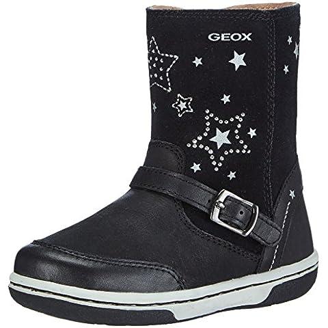 Geox B FLICK GIRL L - Botas de piel para niña