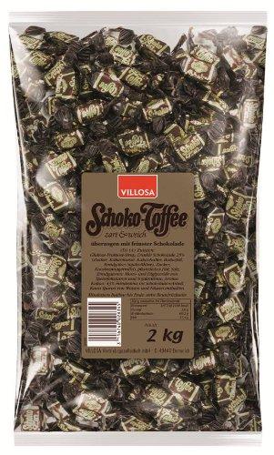 Preisvergleich Produktbild Villosa Schoko-Toffees,  1-er Pack (1 x 2 kg)