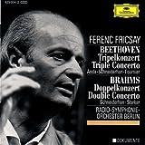 Beethoven:Tripelkonzert/Brahms:Doppelkonzert Schneiderhan-Anda-Starker-Fournier