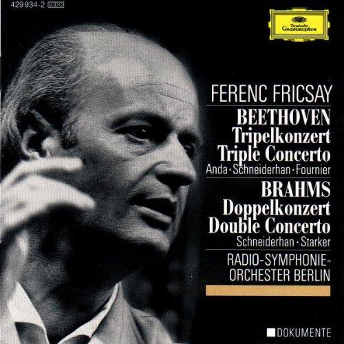 Beethoven : Triple Concerto pour violon, violoncelle et piano ; Brahms : Double Concerto pour violon et violoncelle