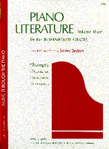 Piano Literature Volume 3: Intermediate Dienstgrade