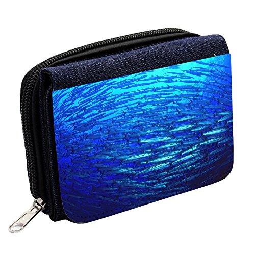 sea-life-10020-barracuda-blue-denim-wallet-custom-printed-high-quality-wallet-purse-card-holder-with