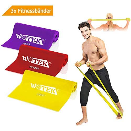 Fasce elastiche elastici fitness elastico fitness banda elastica loop bands - 3xresistenza elastico, riabilitazione fisico e motore elastico bodybuilding per uomini e donne, attrezzi palestra casa