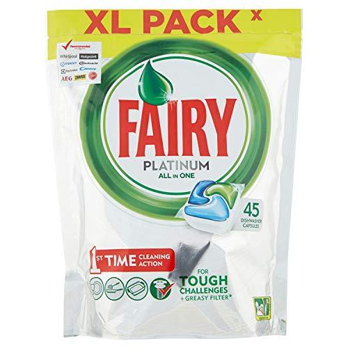 Fairy Platinum Original Cápsulas De Lavavajillas