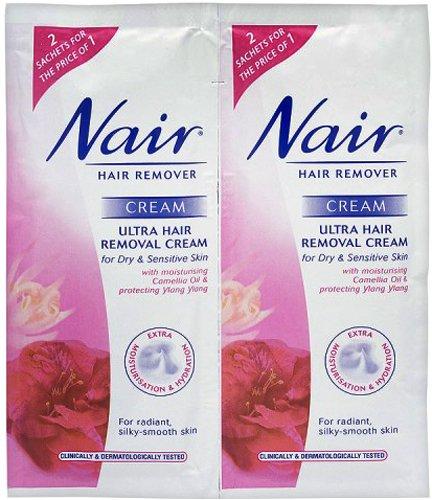 nair-ultra-hair-removal-cream-for-dry-sensitive-skin-sachets-2-x-30ml