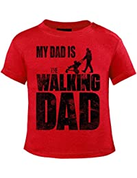 Mikalino Baby T-Shirt My Dad is the Walking Dad kurzarm