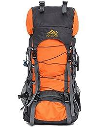 Docooler Mochila de Deporte al Aire Libre de 55L Bolsa Trekking Camping Viaje Paquete Impermeable Mochila de Senderismo