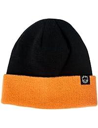 355ebaaf50fba Spitfire Skateboard Beanie Bighead Clip Label Reversible Cuff Black Orange