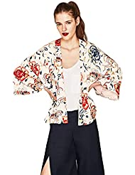 FHH El Kimono Chaqueta Chaqueta De Punto Para Mujer Ropa De Protección Solar,L