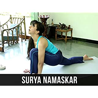 Surya Namaskar or Sun Salutation Simple Yoga Lessons With AJ