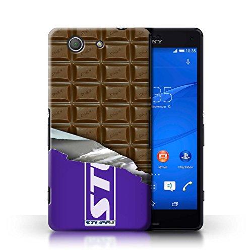 Kobalt® Imprimé Etui / Coque pour Sony Xperia Z3 Compact / Doigts/Sticks conception / Série Chocolat Blocs Dairy Milk