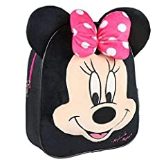 Idea Regalo - Cerdá Disney Minni - Zainetto 3D per bambini, 28 cm, 3,47 l, Multicolore
