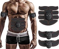 Meiqils-IT Muscolare EMS Elettrostimolatore Elettronico Trainer Addominali Addominale Fitness Uomo/Donna