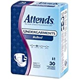 Attends Undergarments 6 Belted Style Qty 4 by Attends Healthcare