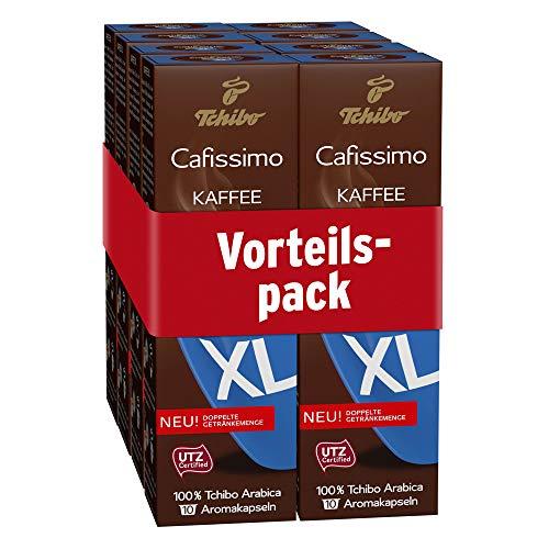 Tchibo Cafissimo Kaffee XL Kapseln für große Kaffeebecher (80 Stück)