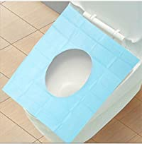 MosQuick® Waterproof toilet seat covers, ,easy to use ,Travel Pack That Fits Over Standard Toilet Seat To Protect From Germs, Bacteria & Skin Infection In Public Toilets.. ( Travel Essentials, Bathroom & Kitchen Acessories, Maternity & Baby Care, Female Hygiene & Sanitary Pads, Fashion & Beauty, Bath, Body & Skin Care Purpose Product )- Pack of 10 sheets