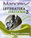 Manomix di letteratura italiana: 3