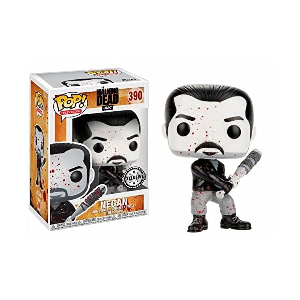 Figura POP The Walking Dead Negan Black White Exclusive