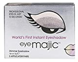 Eye Majic - Instant-Lidschatten - leichtes, professionelles Make-up in 10 Sekunden - 5 Paar - Smokey Eyes - 001
