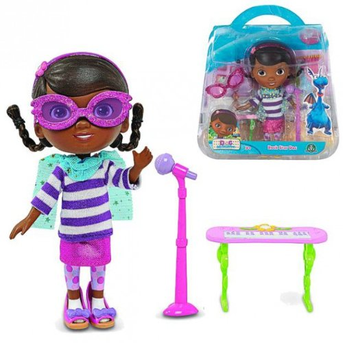 als Rock Star   Puppen Set   Doc McStuffins Kinderärztin   Spielzeug-Ärztin ()