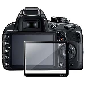 SODIAL(TM) Protecteur d'šŠcran LCD en verre pour Nikon D3100