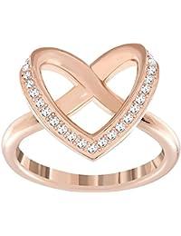 Swarovski Damen-Ring Glas Transparencia - 51_Rosa