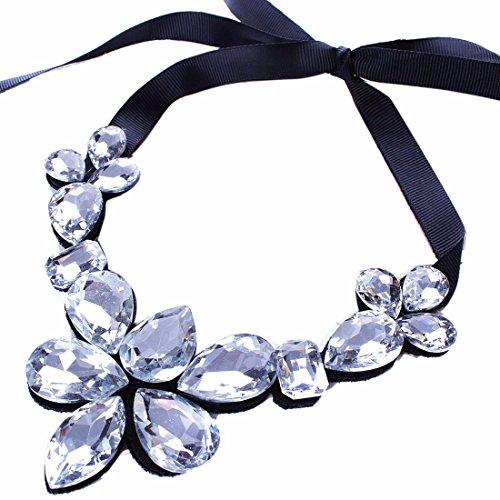 QIYUNZ-Geschliffenen-Kristall-Blume-Blumen-Trgerrechnung-Kragen-Halsketten-Art-Und-Weisedame-Frauen-Charms-Halskette-Anhnger-Halsketten-Reifen-Modische-Ketten