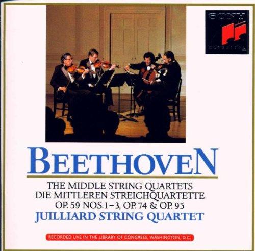 Beethoven: Die mittleren Streichquartette