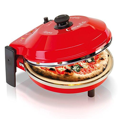 Spice SPP029-R Four à Pizza Caliente 400 degrés résistance Circulaire Pure Pierre réfractaire 32 CM
