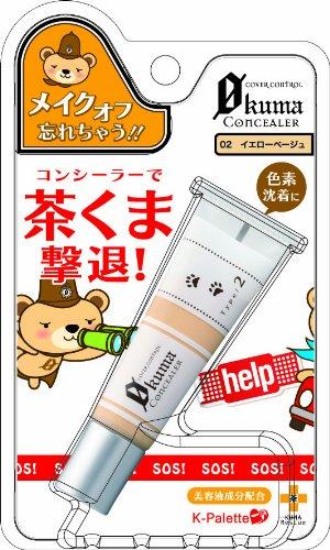 K-Palette Kuma Cover Control Concealer 02 (japan import) [Badartikel]