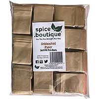 .Boutique 1000 cartine naturali self fill bustine, One Cup, dimensioni 5 x 7 cm, plastica libero, spezie.Boutique