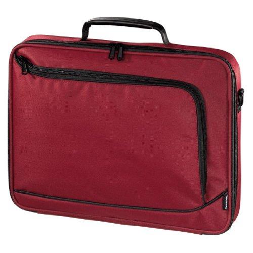 Hama Notebook-Tasche Sportsline Bordeaux (Tasche für Laptop/Notebook, Notebooktasche geeignet für Computer bis 17,3 Zoll / 44 cm Bildschirmdiagonale, Laptoptasche) rot