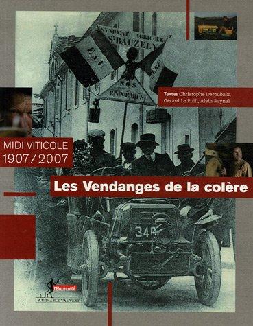 Les Vendanges de la colère : Midi viticole 1907/2007 par Christophe Deroubaix