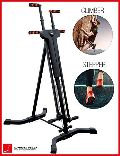 Sportstech Innovative 2 In 1 Stepper Amp Vertical Climber