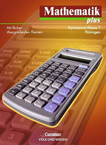 Preisvergleich Produktbild Mathematik plus - Gymnasium Thüringen: Mathematik plus, EURO, Lehrbuch, Ausgabe Gymnasium Thüringen