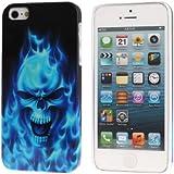 Bralexx 2186 Blue Skull Hartschale für Apple iPhone 5 5S