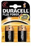 Duracell Plus Power Alkaline C Batterien Baby Batterien LR14 (10x 2er-Blister)